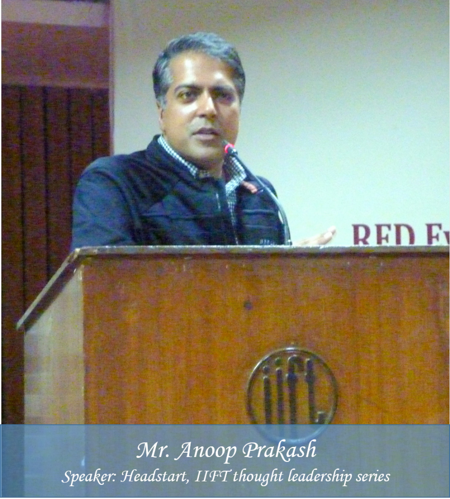 Anoop Prakash IIFT