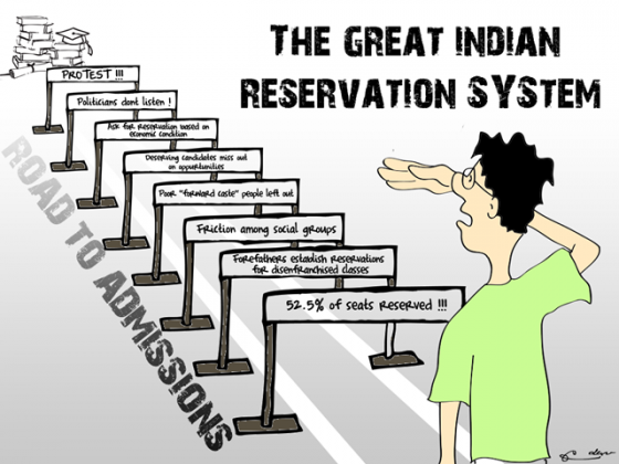 reservations in education